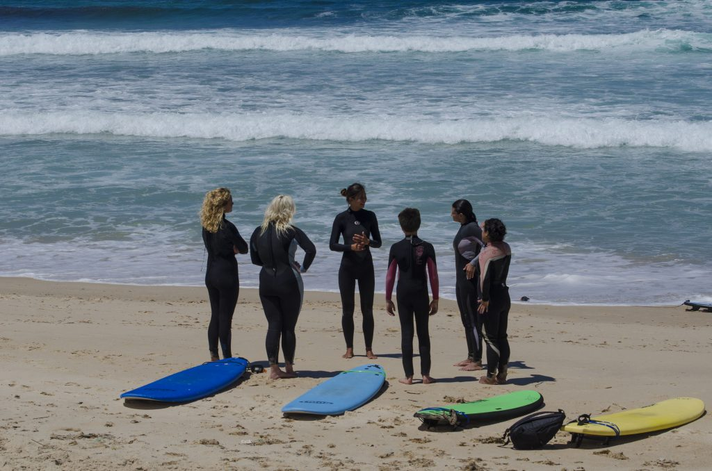 Group Surf Lessons in Peniche & Baleal