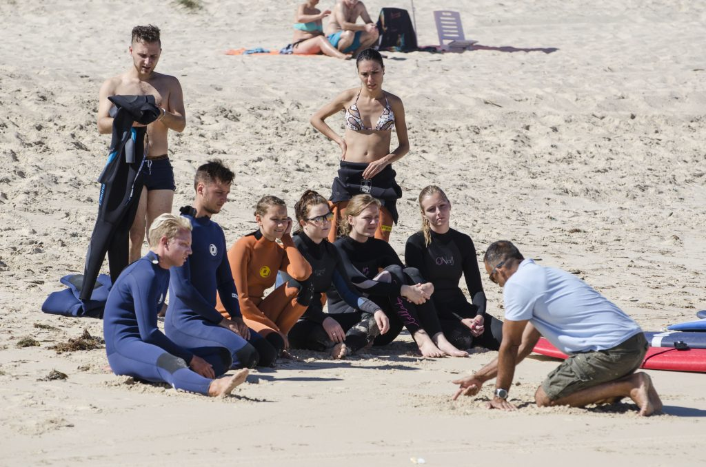 Surf Camp Lessons in Peniche, Portugal